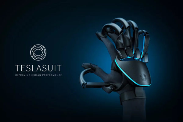 First Full Body VR - Teslasuit Glove Allows You to Feel Virtual Objects