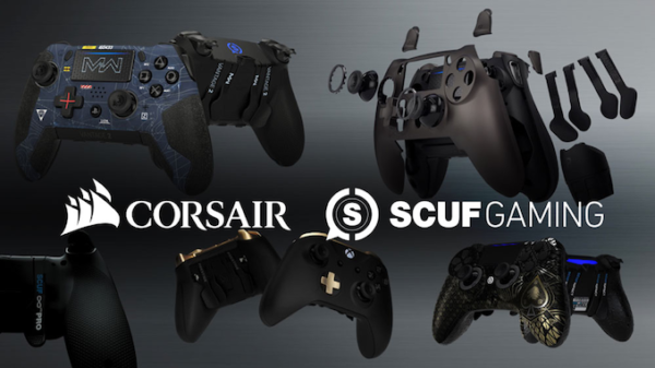Corsair Acquires Scuf's Gamepad Technology