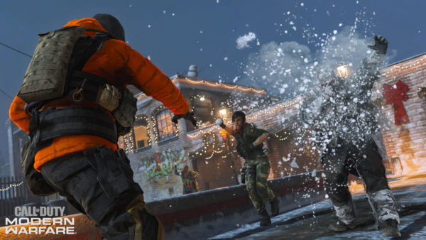 Call of Duty: Modern Warfare Offers Kinder Gameplay By Adding Snowball Fight