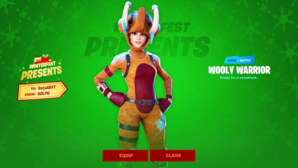 YouTuber Shares Fortnite Glitch To Get Wooly Warrior Skin