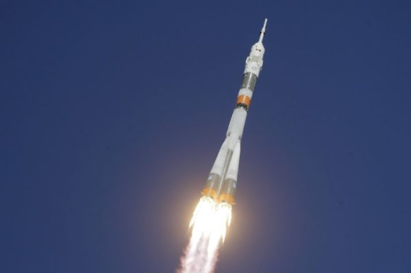 Russian Space Agency New Satellite Roscosmos Launched On Christmas Eve
