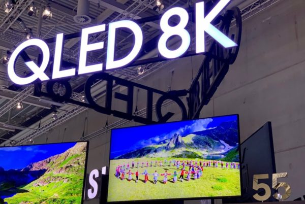 Samsung's QLED 8 K TV Will Be First of Certified by 8 K Association