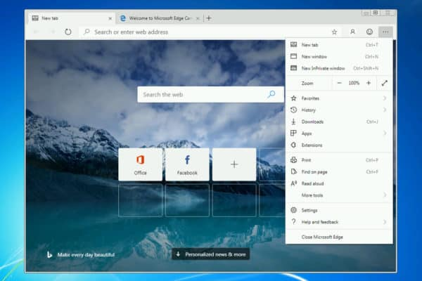 Microsoft Released the First Version of Edge Browser for ARM-Based Windows 10