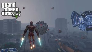 COVID-19 GTA V Mod: Grand Theft Auto 5 games Iron Man fight with Coronavirus