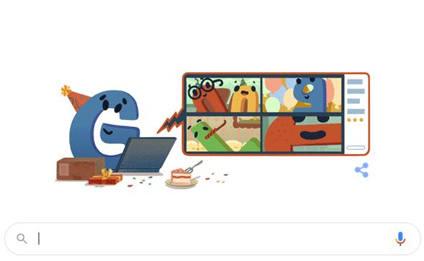 Happy Birthday Google 2020